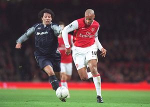 Thierry Henry (Arsenal) Ivan Campo (Bolton)