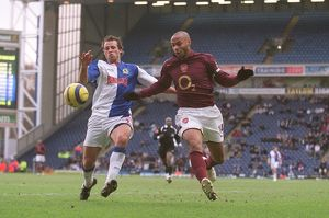 Thierry Henry (Arsenal) Lucas Neill (Blackburn). Blackburn Rovers 1:0 Arsenal