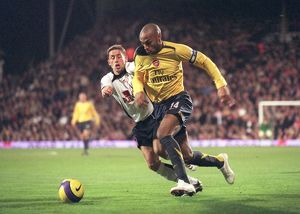 Thierry Henry (Arsenal) Michael Brown (Fulham)