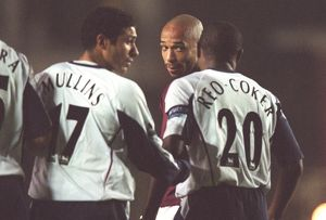 Thierry Henry (Arsenal) Nigel Reo-Coker (West Ham). Arsenal 2:3 West Ham United