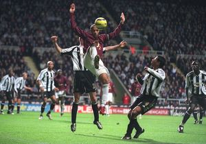 Thierry Henry (Arsenal) Noberto Solano (Newcastle United)