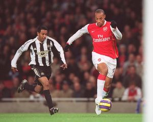Thierry Henry (Arsenal) Nolberto Solano (Newcastle)