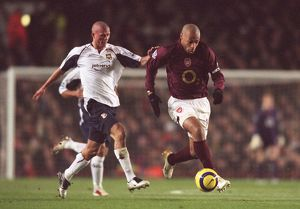 Thierry Henry (Arsenal) Paul Konchesky (West Ham). Arsenal 2:3 West Ham United