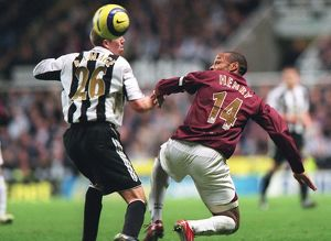 Thierry Henry (Arsenal) Peter Ramage (Newcastle United)