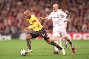 Thierry Henry (Arsenal) Thomas Gravesen (Real). Real Madrid 0:1 Arsenal
