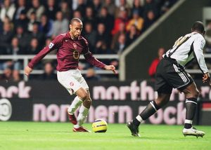 Thierry Henry (Arsenal) Titus Bramble (Newcastle United)