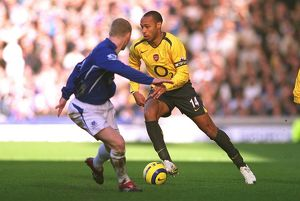 Thierry Henry (Arsenal) Tony Hibbert (Everton)