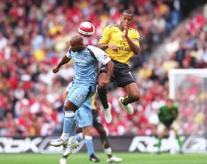 Thierry Henry (Arsenal) Trevor Sinclair (Man City)