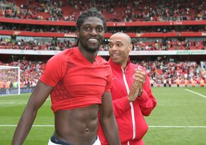 Thierry Henry and Emmanuel Adebayor (Arsenal)