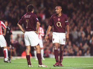 Thierry Henry and Robert Pires (Arsenal). Arsenal 3:1 Sunderland