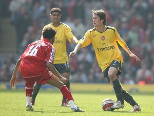 Tomas Rosicky (Arsenal) Jermaine Pennant (Liverpool)