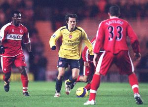 Tomas Rosicky (Arsenal) Yakubu and Andrew Taylor (Middlesbrough) Middlesbrough 1