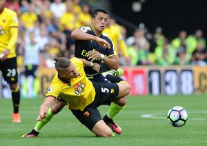 season 2016 17/watford v arsenal 2016 17/watford v arsenal premier league