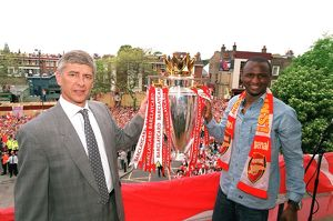team/players coaches wenger arsene/wenger vieira 2 040516afc