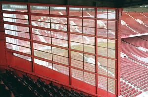 West Stand Upper. Arsenal Stadium, Highbury, London, 10/11/05