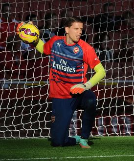 season 2014 15/arsenal v burnley 2014 15/wojciech szczesny arsenal arsenal 30 burnley