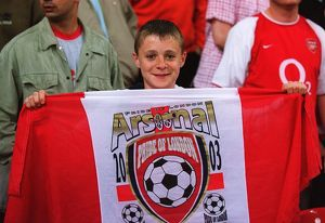 A Young Arsenal Fan. Arsenal 1:0 Southampton. The F